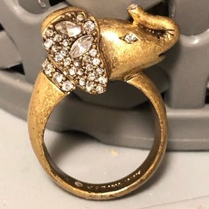 Ann Taylor Elephant Ring